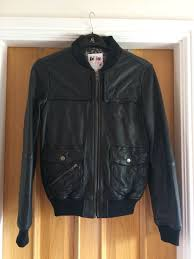 details about brand new las billabong leather jacket