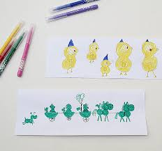 Kid Cards Teaching Kids About Design With Homemade Birthday Cards Creative