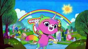 <b>Радужно</b>-<b>бабочково</b>-<b>единорожная кошка</b> (+6) | Nickelodeon