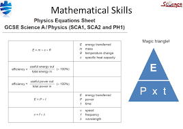 9 mathematical skills e p x t magic triangle