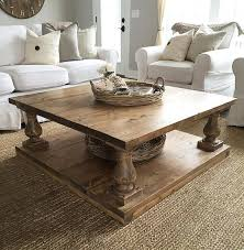 square rustic baer wide plank coffee table baer coffee table