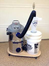 diy vac dust collection homemade vac dust collector