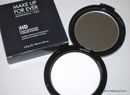 review make up for ever mufe hd high definition pressed powder