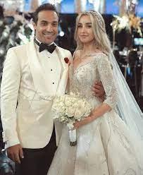 عرس هنا الزاهد وأحمد فهمي وكل التفاصيل من داخل حفل الزفاف - هاربرز بازار