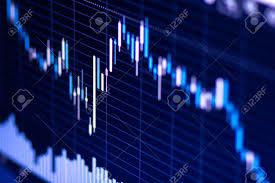 Forex Fx Charts Stock Price Chart Forex Trading Close Up View Fx Graph On Display