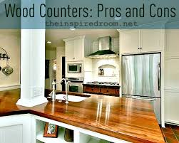 wood kitchen counters pros cons faq my experience