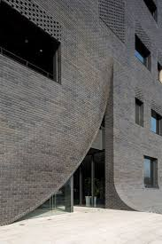 modern office building. Bricks Decoded: Curved Brick Buildings, Curated By Yellowtrace. Modern Office Building G