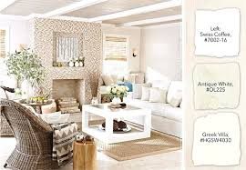 off white walls with dark trim contemporary casual living room with antique white paint and a off white walls