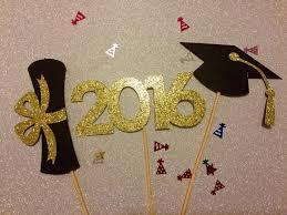 Graduation Decorations Graduation Centerpiece Sticks 2016 Graduation Party Party