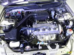 2000 Honda Civic LX Sedan Engine Photos | GTCarLot.com