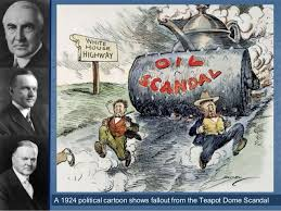 「what is October 25, 1923 Teapot Dome scandal ?」の画像検索結果