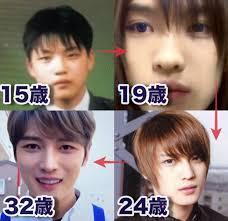 ジェジュン顔変わりすぎ二重や鼻筋の整形を徹底比較した画像がこちら