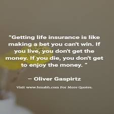 funny sayings about life insurance
