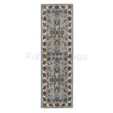 orient wool rug 113 light blue runner 68 x 235 cm 2