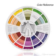 Pocket Size Color Wheel Paper Card Paint Mix Learning Guide Artist Chart Wheel Paint Mix Learning Guide Artist Chart Wheel Tattoo Power Supply For