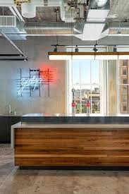 office kitchen ideas. Kitchen:Modern Lighting Ideas For Office Kitchen With Long Wooden Island And Stainless Countertop L