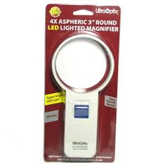 Ultraoptix Round Led Magnifier 4 Power Sv 3 Lpled