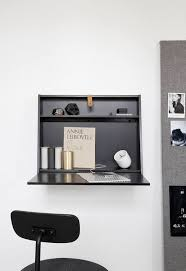 office desk black. Vosgesparis: Multifunctional Wall Desk In Black | Norm Architects For MENU Office
