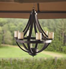 outdoors battery operated led gazebo chandelier designs