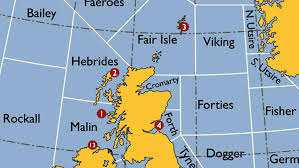 Sea State Chart Uk The Shipping Forecast A Map Of Britains Splendid Isolation
