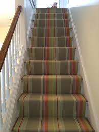 Wool Striped Stair Runner