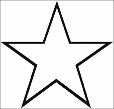 Small Picture Star Coloring Pages inside Stars Coloring Pages learn languageme