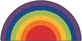 interior semi circle rug modern half rugs black stars braided jute moon ikea regarding 15