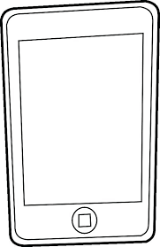 Phone Coloring Page Coloring Cell Phone Coloring Page Pages Mobile