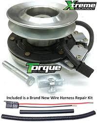 amazon com bundle 2 items pto electric blade clutch wire bundle 2 items pto electric blade clutch wire harness repair kit xtreme