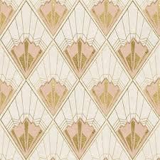 Revival Behang Roze Goud Funkywalls Dé Webshop Voor Vintage En