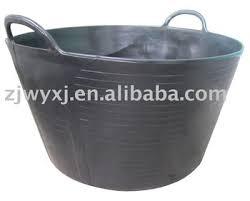 garden bucket. Flexible Plastic Tubtrugs,PE Garden Buckets,large Size Tubtrugs Bucket