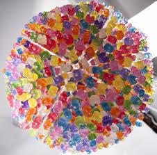 42 most beautiful gummy bear chandelier art sculpture colorful interior design color light fixture gummies