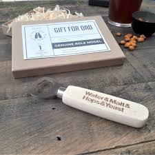 personalised wooden bottle opener
