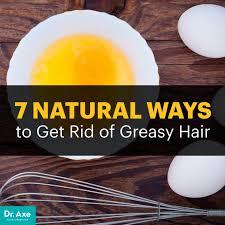 greasy hair remedy dr axe