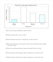 Reading Charts And Graphs Worksheets Free Interpreting Graphs Practice Worksheets Reading Charts And
