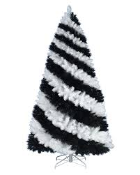 zebra print christmas tree. rollover to zoom in