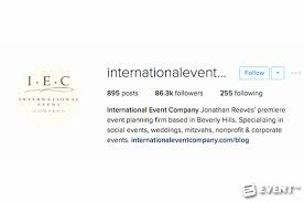 23 Instagram Event Planner Accounts to Follow in 2017