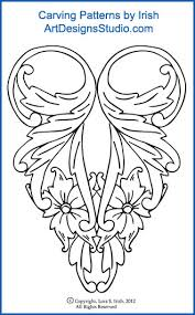 Carving Patterns Gorgeous L S Irish Classic Carving Patterns