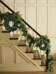 Source Source. This staircase garland ...