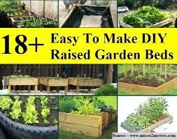 how to make raised garden beds. Diy Raised Garden Beds Easy To Make How