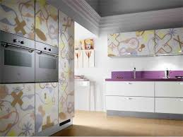 Wallpaper On Kitchen Cabinets : Kitchen Cabinet ideas ...