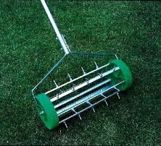 garden aerator. If Your Lawn Appears Patchy And Limp, Then You Made Need To Aerate It. Aerating Can Be Done By Using Two Different Types Of Tools For The Aeration Garden Aerator D