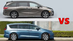 2018 Honda Odyssey Vs 2017 Chrysler Pacifica  1