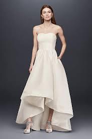 short tea length wedding dresses david s bridal