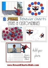 Spiderman Reward Chart Spiderman Reward Charts