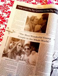 whimsical wedding newspaper engagement announcement wedding Wedding Announcements Virginian Pilot whimsical wedding newspaper engagement announcement wedding newspaper www wedding announcements virginian pilot