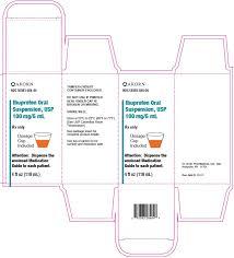 Ibuprofen Oral Suspension Usp 100 Mg 5 Ml