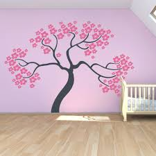 wall decal cherry blossom tree cherry tree wall art decal wall decals .