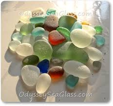 sea glass color chart huanchaco beach