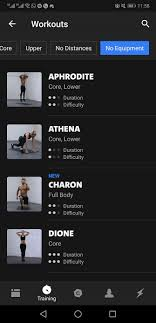 freeletics offers a variety of exercise apps but the one dedicated to bodyweight is its most highly rated the app uses dels such as your age